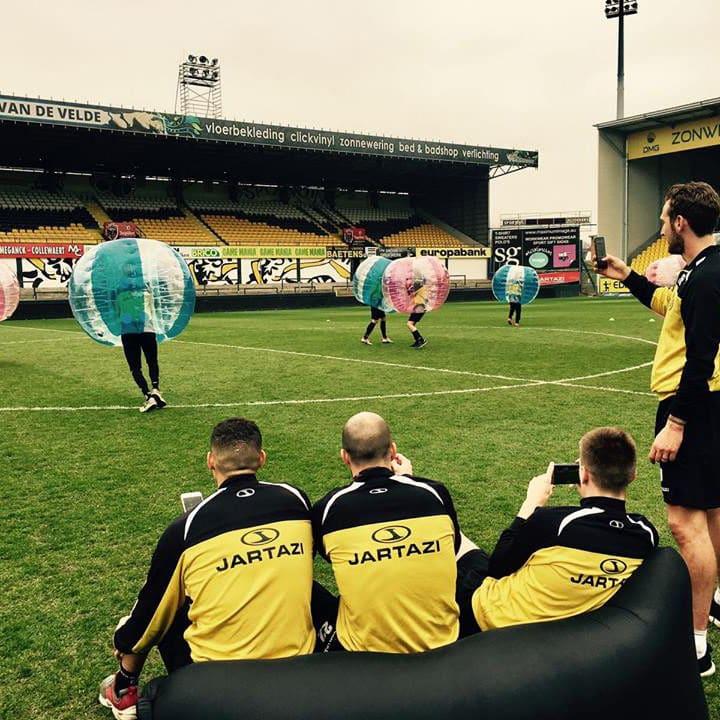 Teambuilding bubble voetbal Gent