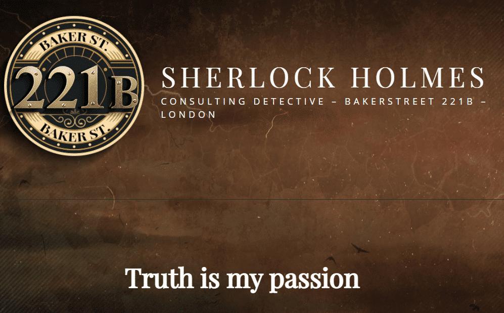 Sherlock online escape spel